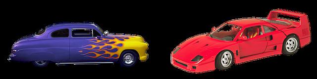 modely Ferrari