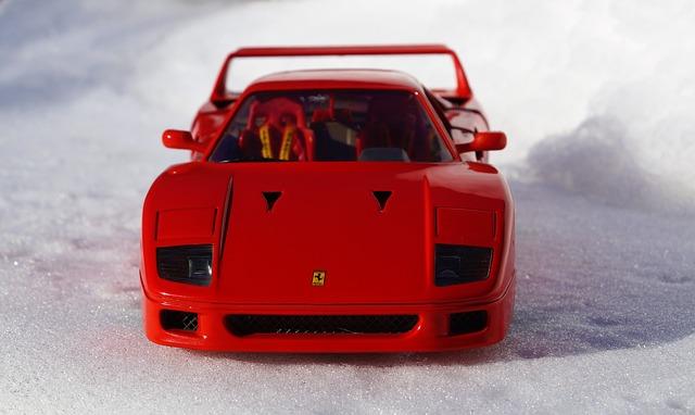 Ferrari jako hračka