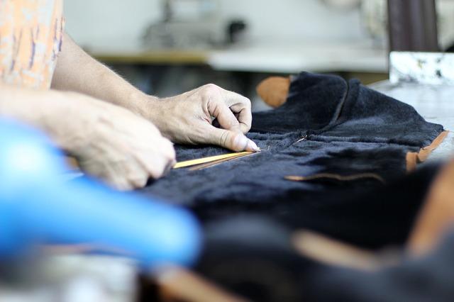 šití oděvů