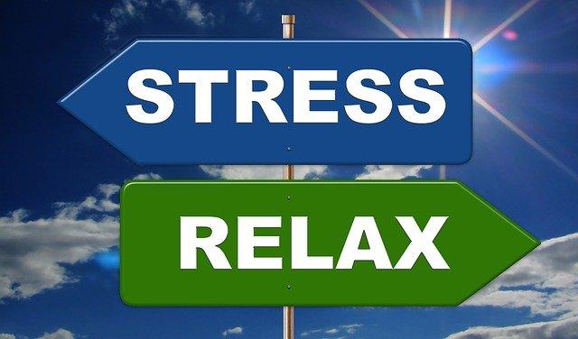 stres nebo relaxace